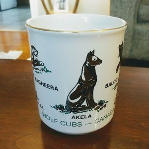Boy Scouts Wolf Cubs Ceramic Coffee/Tea mug cup
